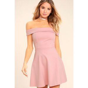NEW Lulu's Season Of Fun Off The Shoulder Dress